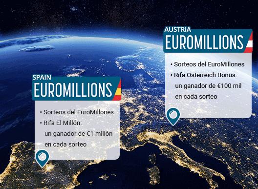 Participar al EuroMillones online desde mi país